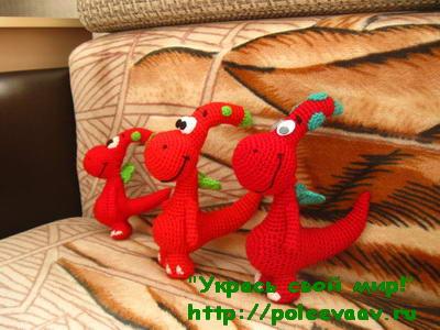 вязание лошадки крючком