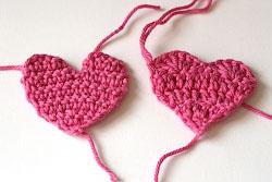 связанное сердечко