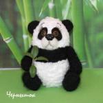 Вязаная панда описание вязания крючком