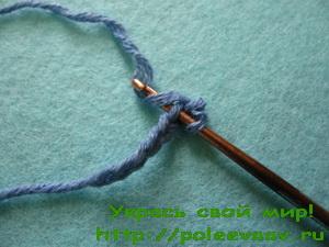 Уроки вязания крючком для начинающих столбик без накида