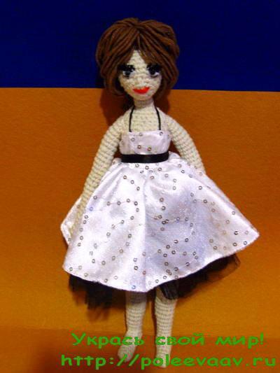 Вязаная крючком кукла схема