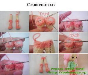куколки крючком схемы, вязаные куколки крючком