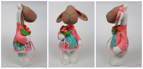 одежда для игрушки, одежда для тильды, овечка из ткани, тильда овечка, овечка своими руками