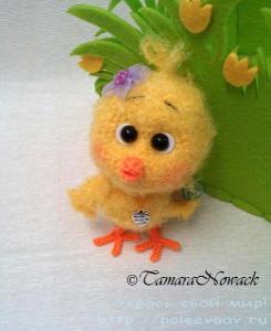 мягкие игрушки своими руками, игрушки своими руками, игрушки крючком, цыпленок крючком, вязаный цыпленок, Тамара Новак