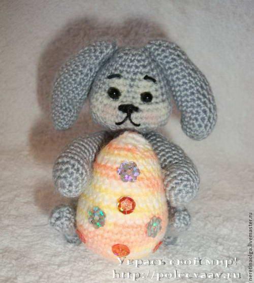 кролик пасхальный мк 11