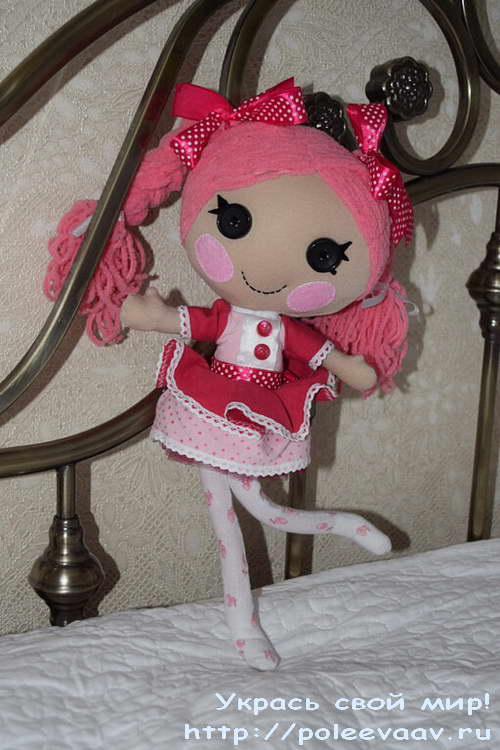 кукла лалалупси своими руками, куклы лалалупси