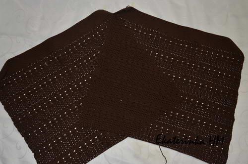 юбка крючком схема