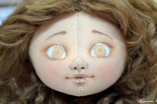 лицо куклы 09