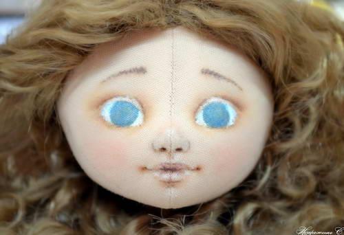 лицо куклы 10