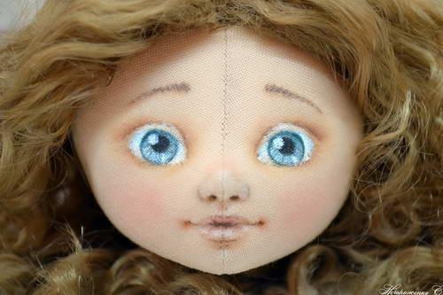 лицо куклы 12