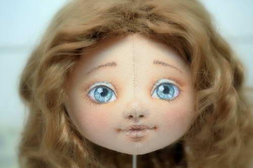 лицо куклы 13