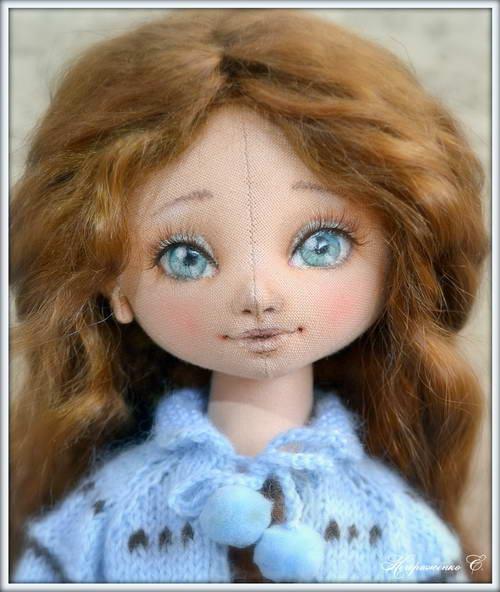 лицо куклы 14
