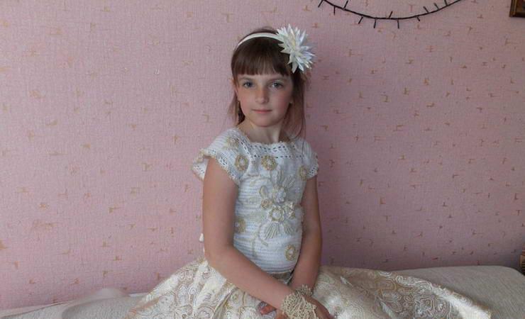 нарядное платье для девочки на выпускной мин
