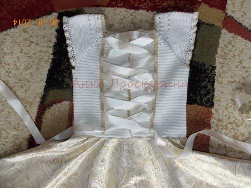 нарядное платье для девочки на выпускной 05