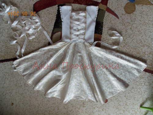 нарядное платье для девочки на выпускной 06