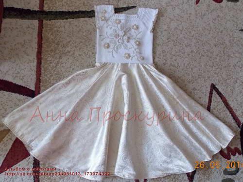 нарядное платье для девочки на выпускной 08