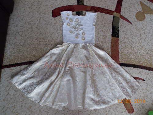 нарядное платье для девочки на выпускной 14