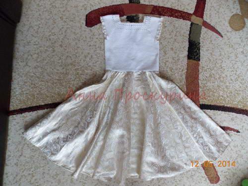 нарядное платье для девочки на выпускной 17