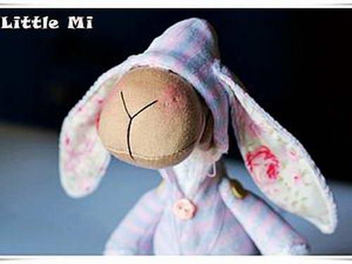 Тильда-овечка из ткани