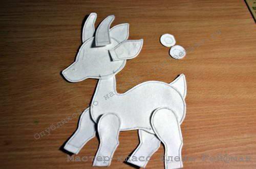 игрушка коза своими руками 04