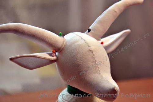 игрушка коза своими руками 13