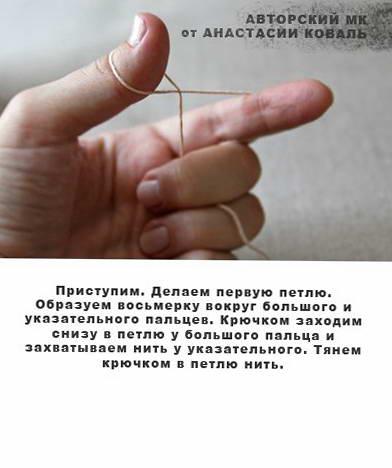 пальчиковый театр колобок крючком 04