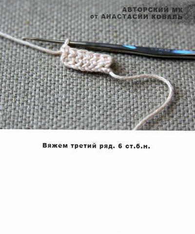 пальчиковый театр колобок крючком 07