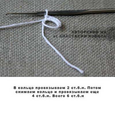 пальчиковый театр колобок крючком 13