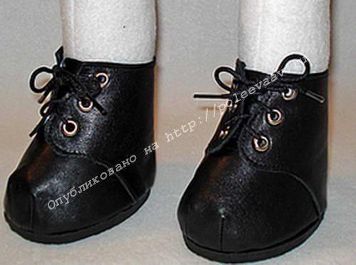 как сделать обувь для кукол 01.min