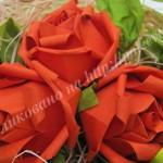 podelka roza iz bumagi min-min