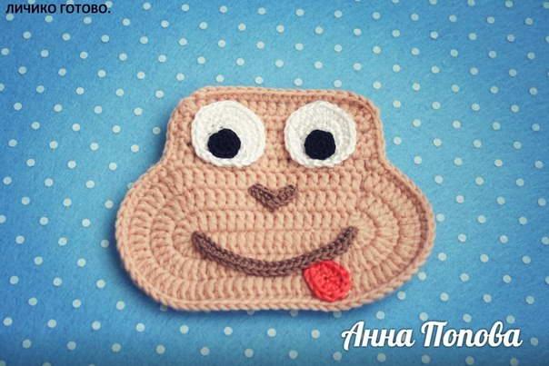 шапка обезьянка крючком 40-min