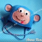 шапка обезьянка крючком 44-min