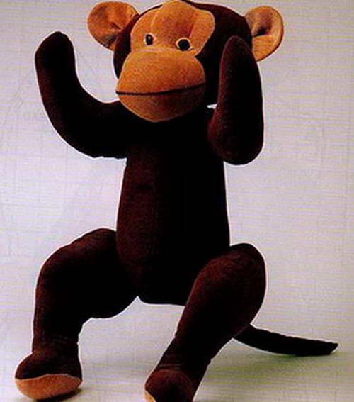 выкройка обезьянки