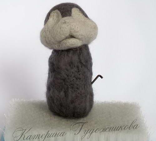 валяние игрушки пасхальный кролик 14-min