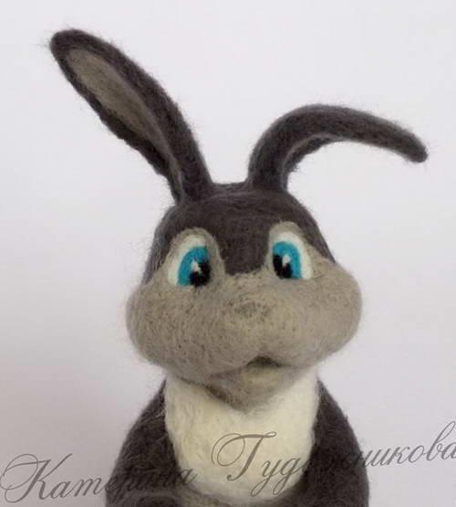 валяние игрушки пасхальный кролик 31-min