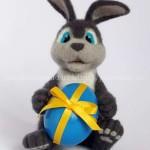 валяние игрушки пасхальный кролик 36-min