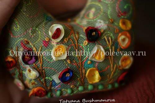 текстильный петушок