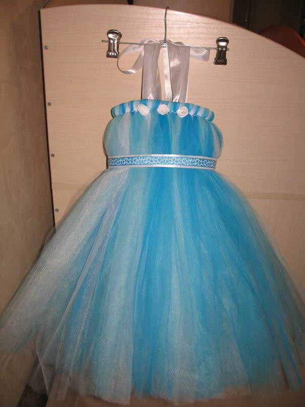Платье из фатина своими руками на годик