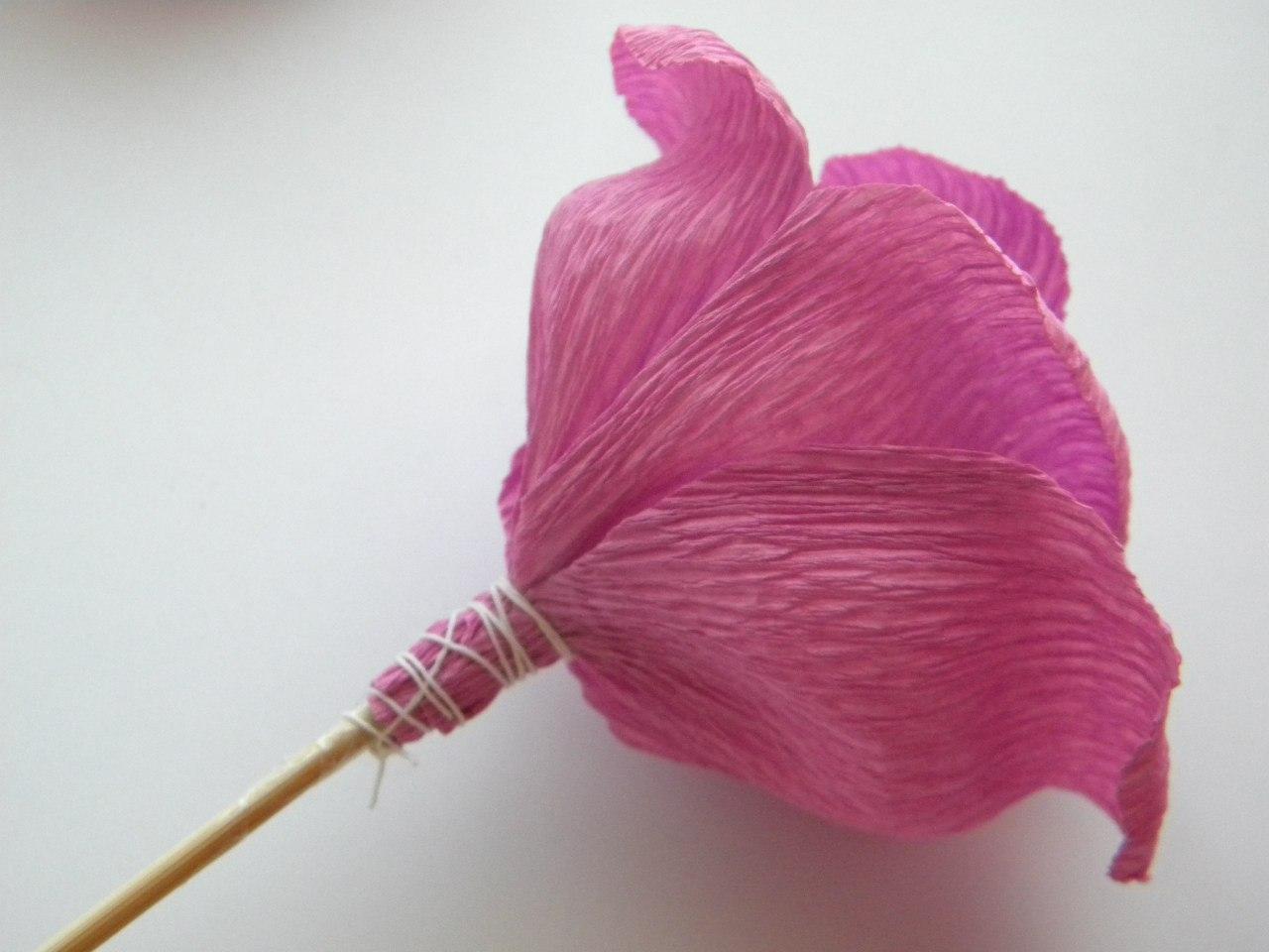 Цветы из бумаги своими руками пошаговое фото легкие с конфетами