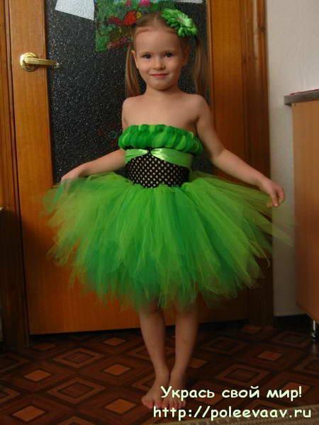 Платье на утренник своими руками Прическа для девочки