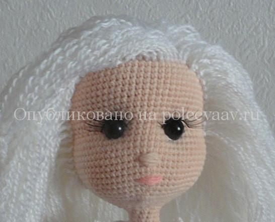 снегурочка своими руками вязаная кукла крючком укрась свой мир