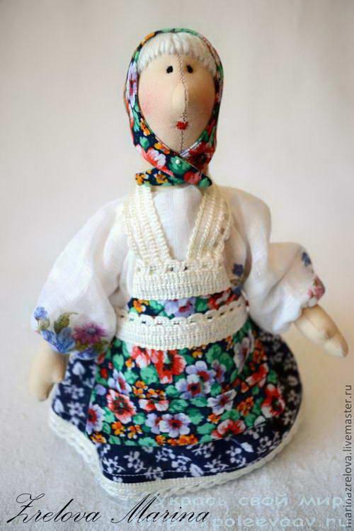 Бабушка кукла своими руками