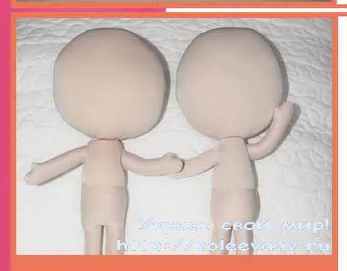 Как сделать куклу своими руками поэтапно из ткани 171