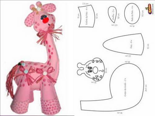 Жираф своими руками мягкая игрушка