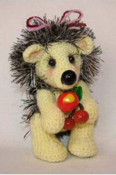 Мягкая игрушка своими руками ежик крючком | Укрась свой мир!