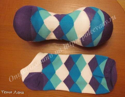 Мастер класс поделки из носков своими руками